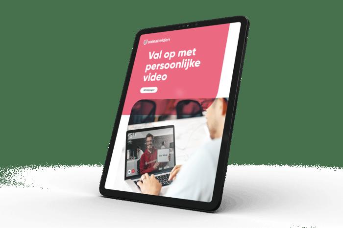 Val op met persoonlijke video